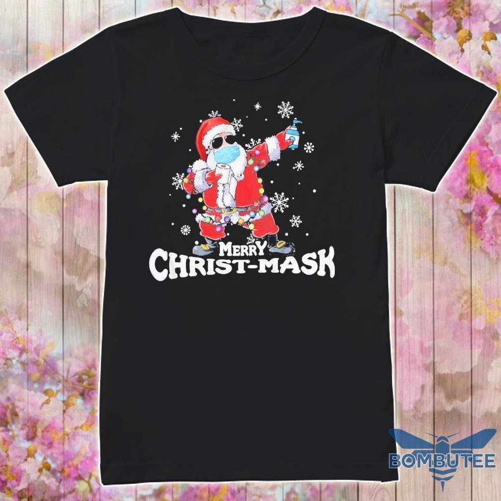 Santa Claus Merry Christ-mask shirt