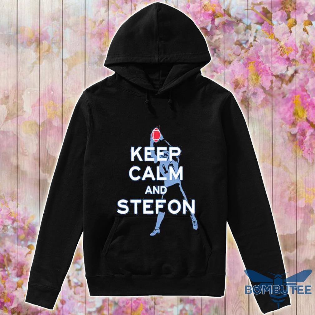 Keep calm and Stefon Diggs s -hoodie