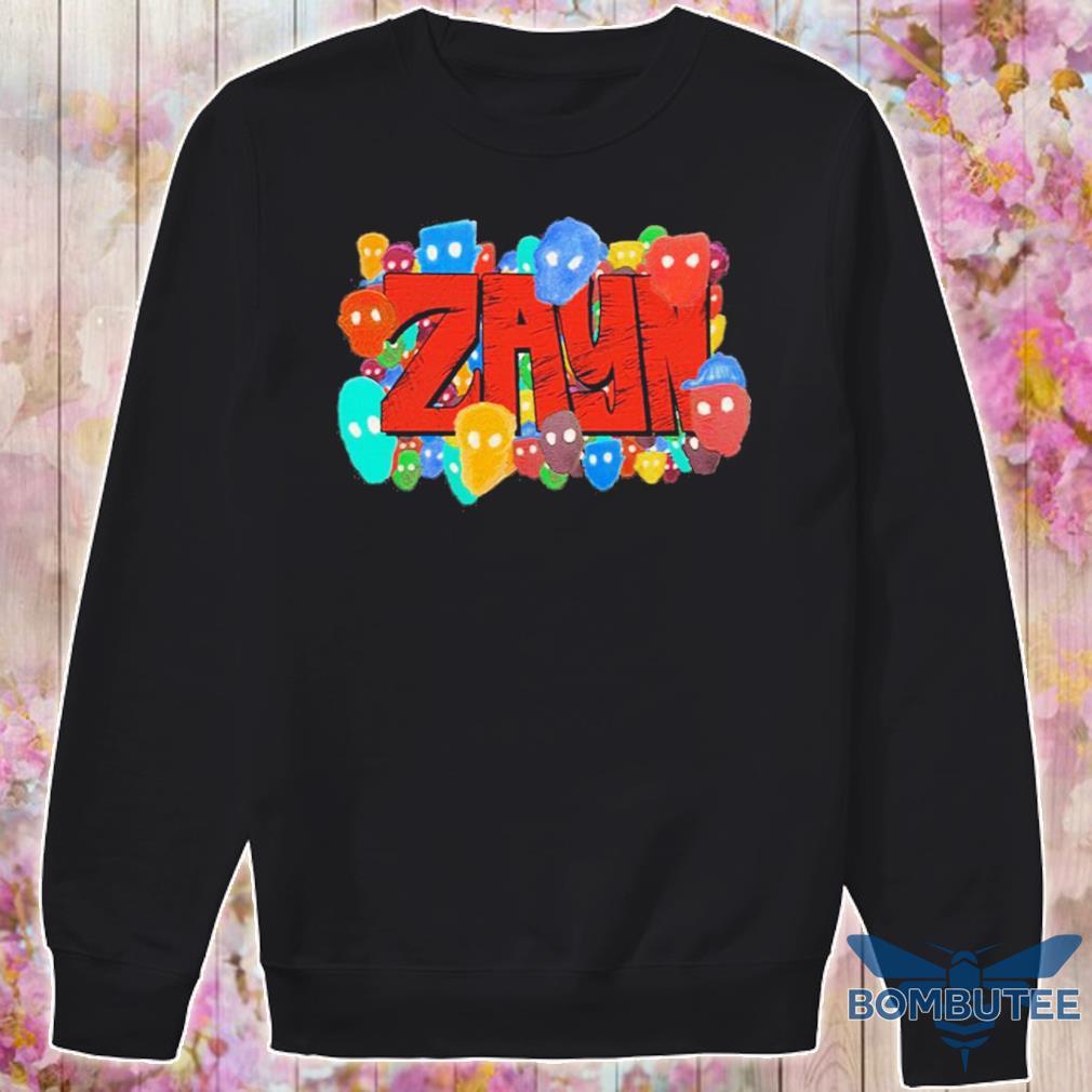 Official Zayn Black Shirt -sweater