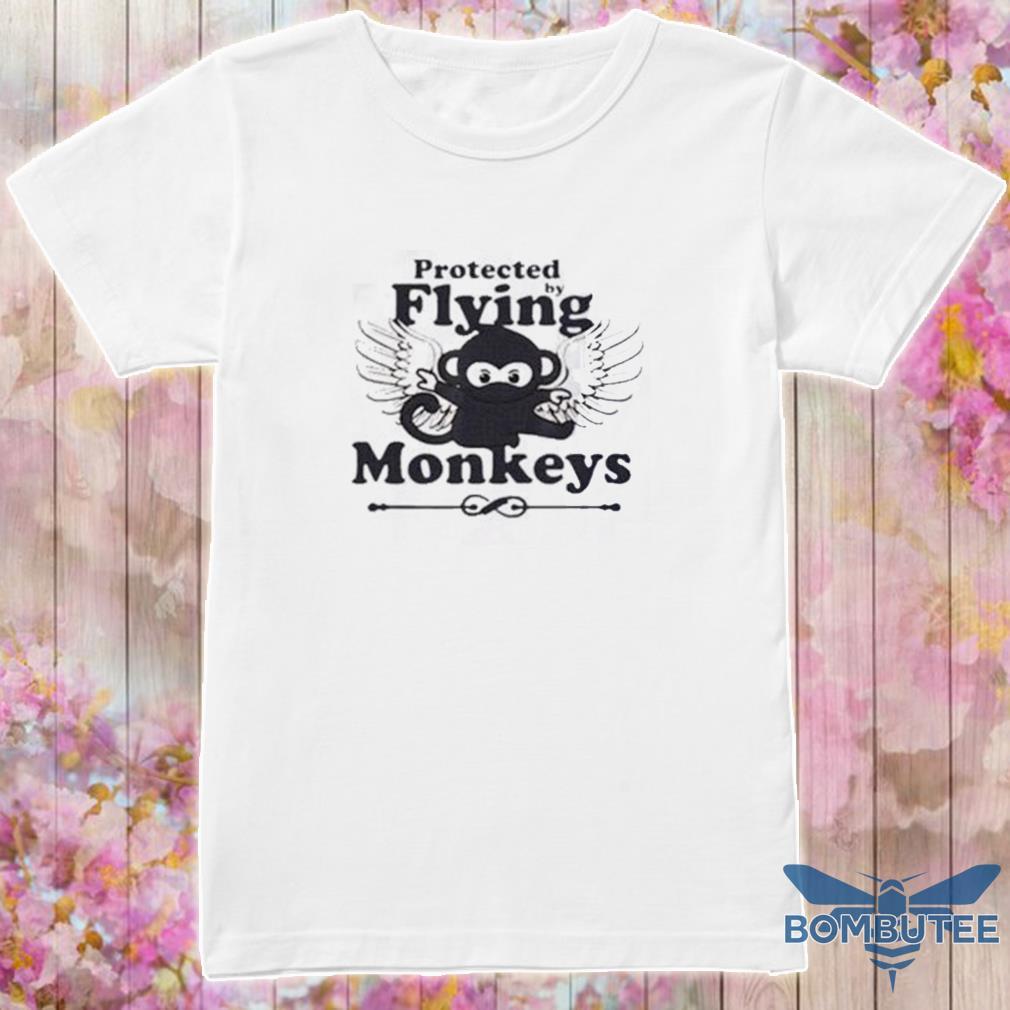 Protected By Flying Monkeys Ninja shirt