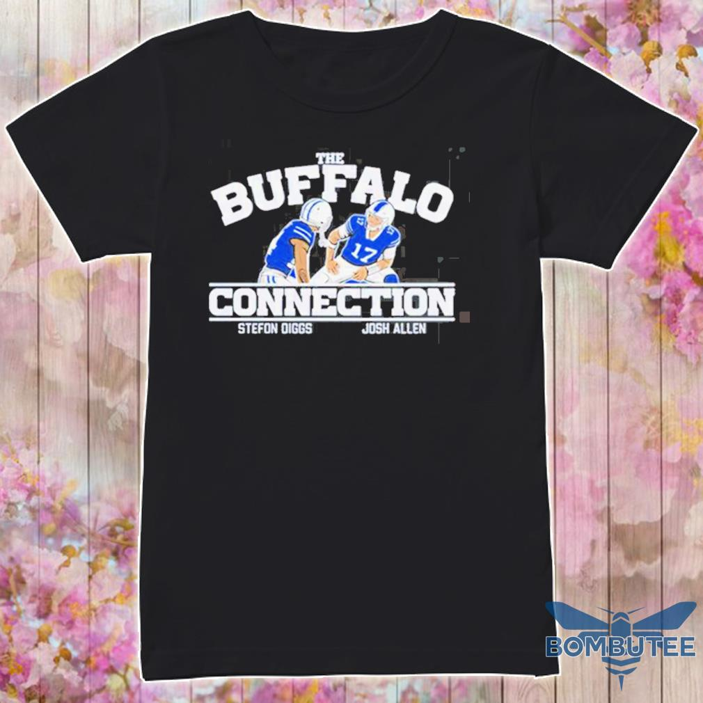 The Buffalo Connection Stefon Diggs and Josh Allen shirt