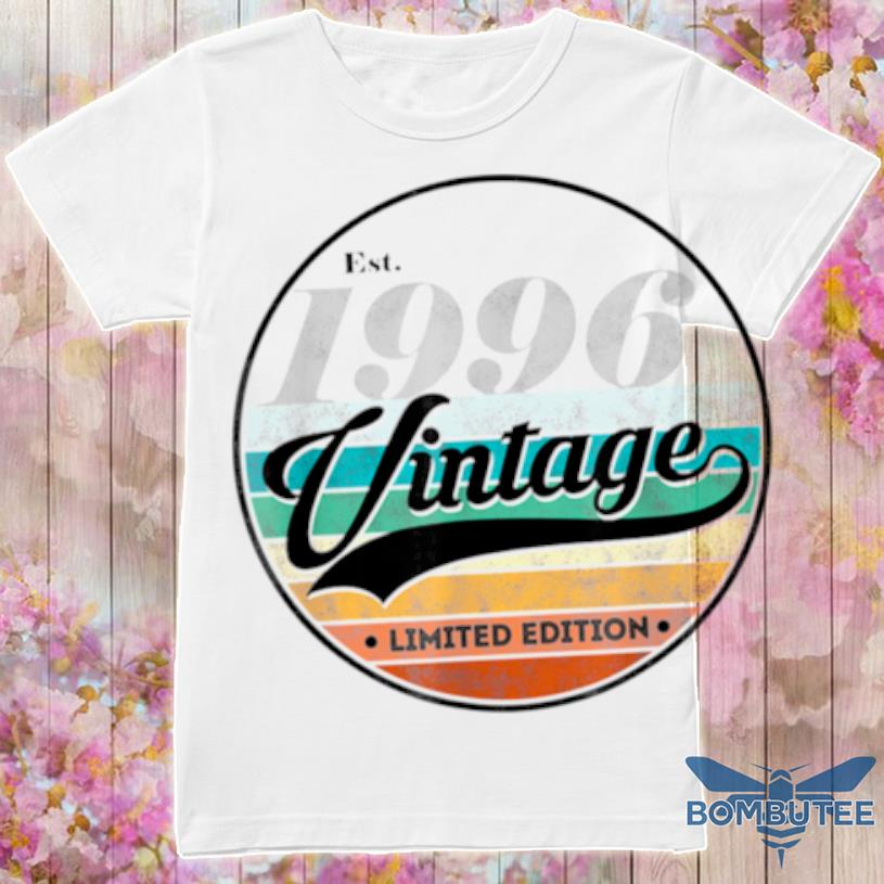 Vintage 1996 Aged 25 Years Old Shirt