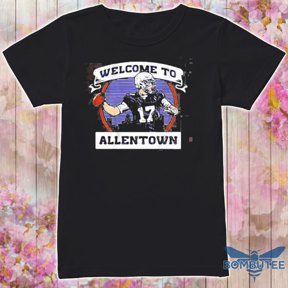 Welcome To Allentown Football Player Number 17 shirt+